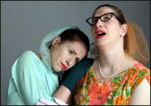 Funny Girls: Laurie Elliott and Kristeen von Hagen