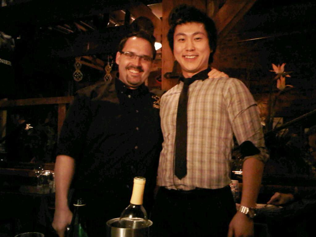 Fish Market Supervisor Andre and Manager Jaden