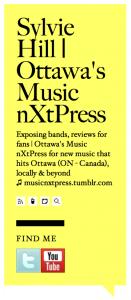 Sylvie Hill | Ottawa's Music nXtPress
