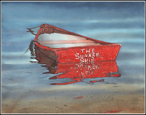 sunken ship