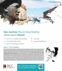 Sylvie Hill James Joyce course in Ireland