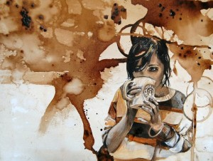 MillyParkes Coffee Stained Girl